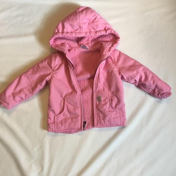dd8f20b5 Carhartt Jackets & Coats | Redwood Jacket Sherpa Lined Pink 3t ...